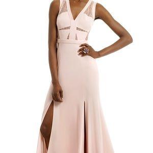 BCBGMAXAZRIA Last Summer Rose Gown Maxi Dress Sz 2